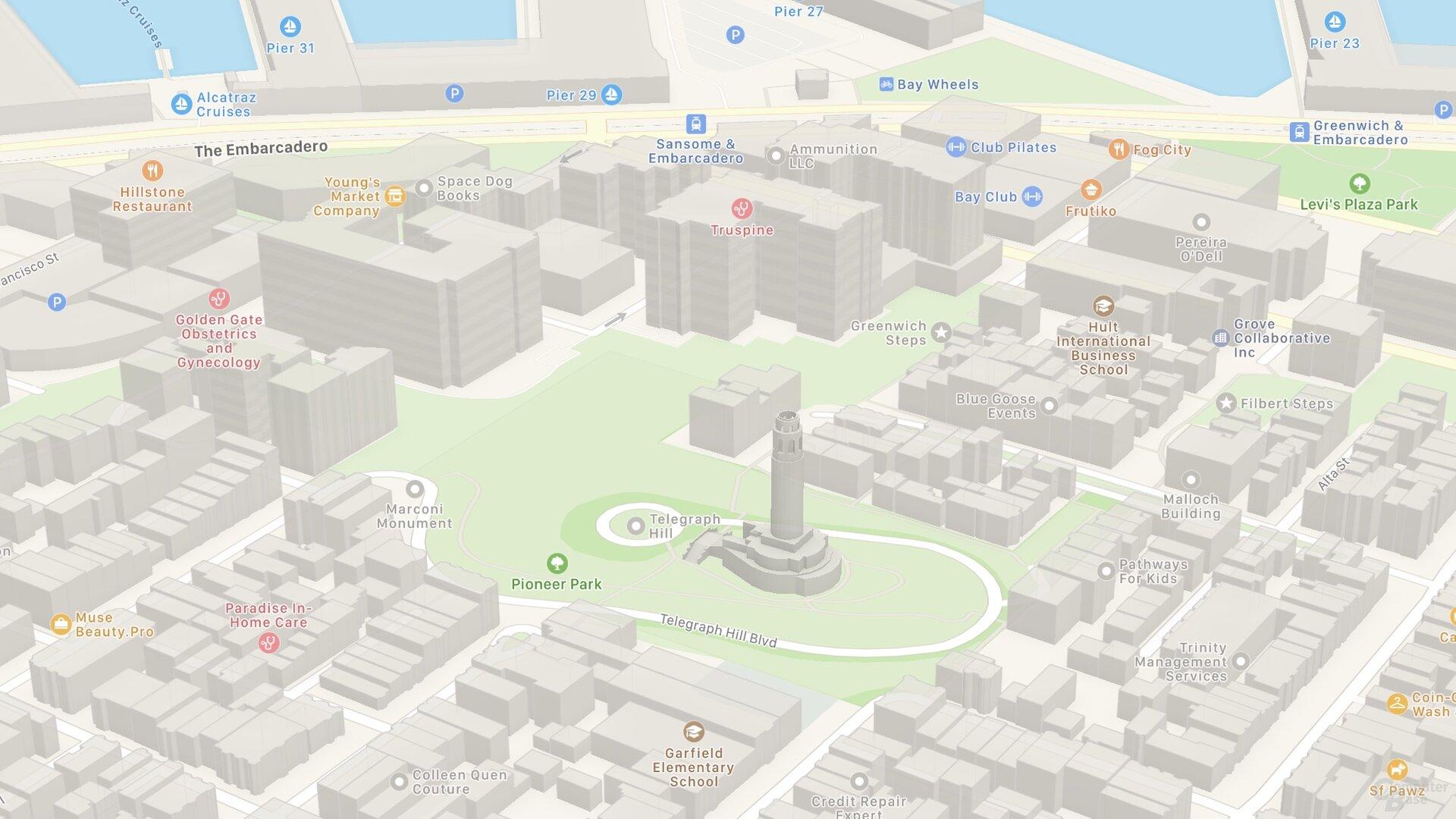 SF Telegraph Hill (iOS 14)