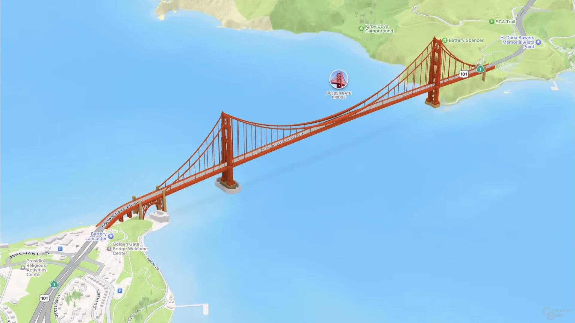 Puente SF Golden Gate (iOS 15)