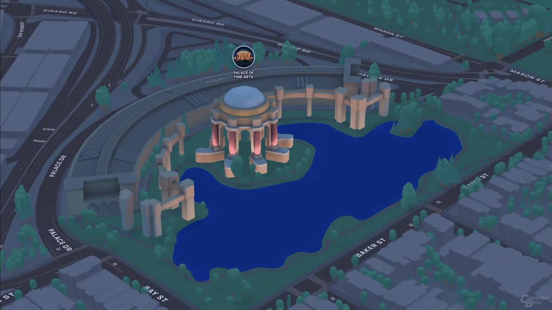 SF Palace of Fine Arts (iOS 15)