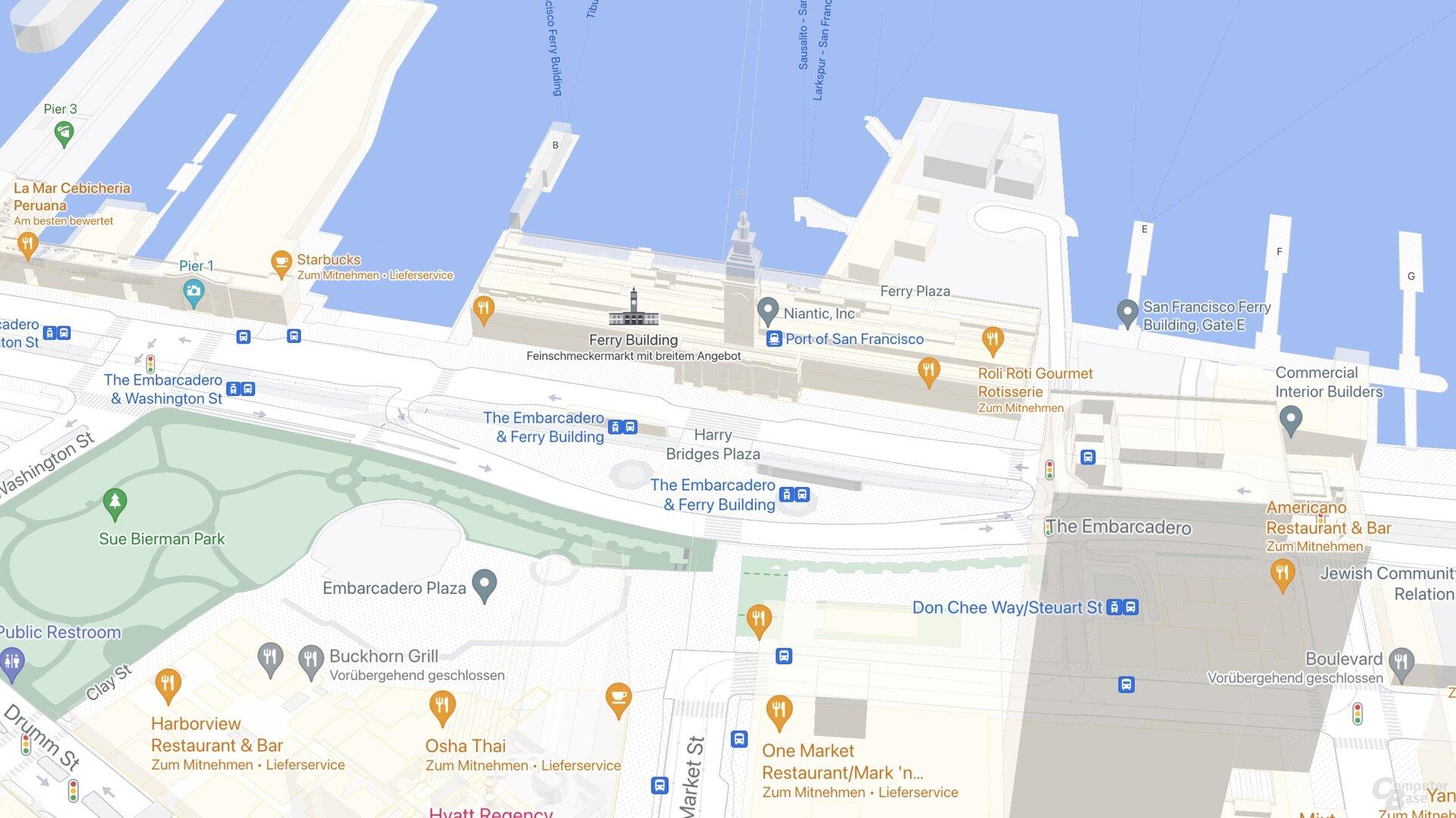 Edificio SF Ferry (Google Maps)