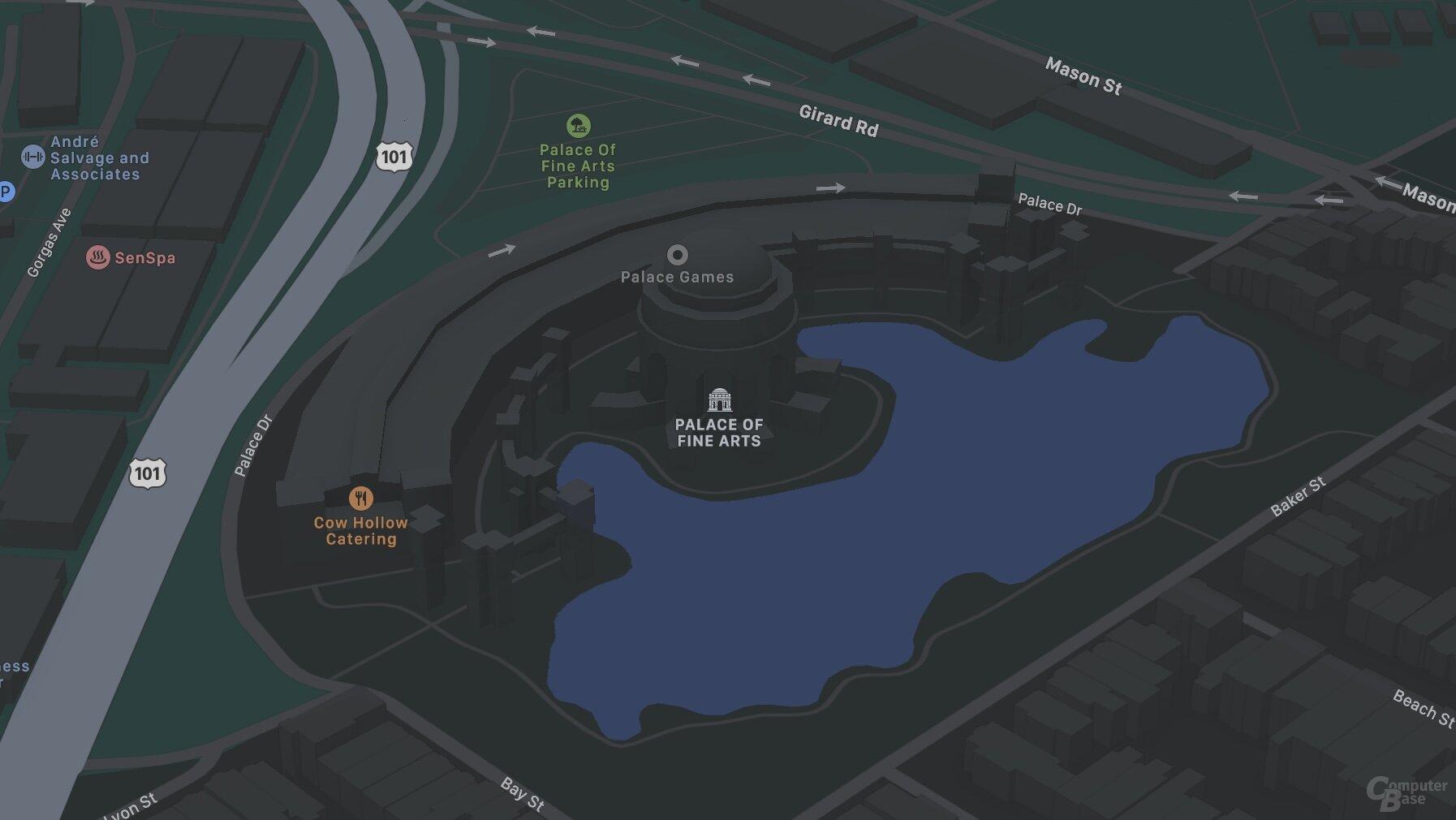 Palacio de Bellas Artes de SF (iOS 14)
