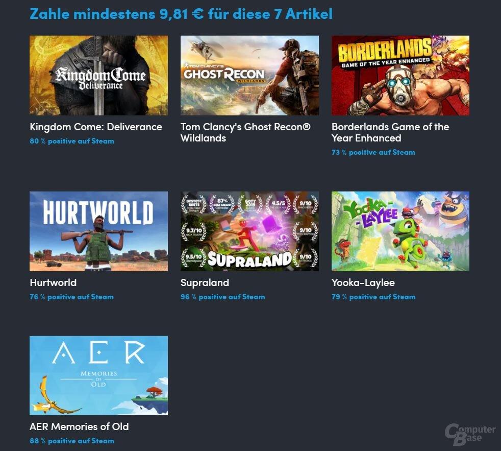 Los mejores juegos están disponibles por unos diez euros.