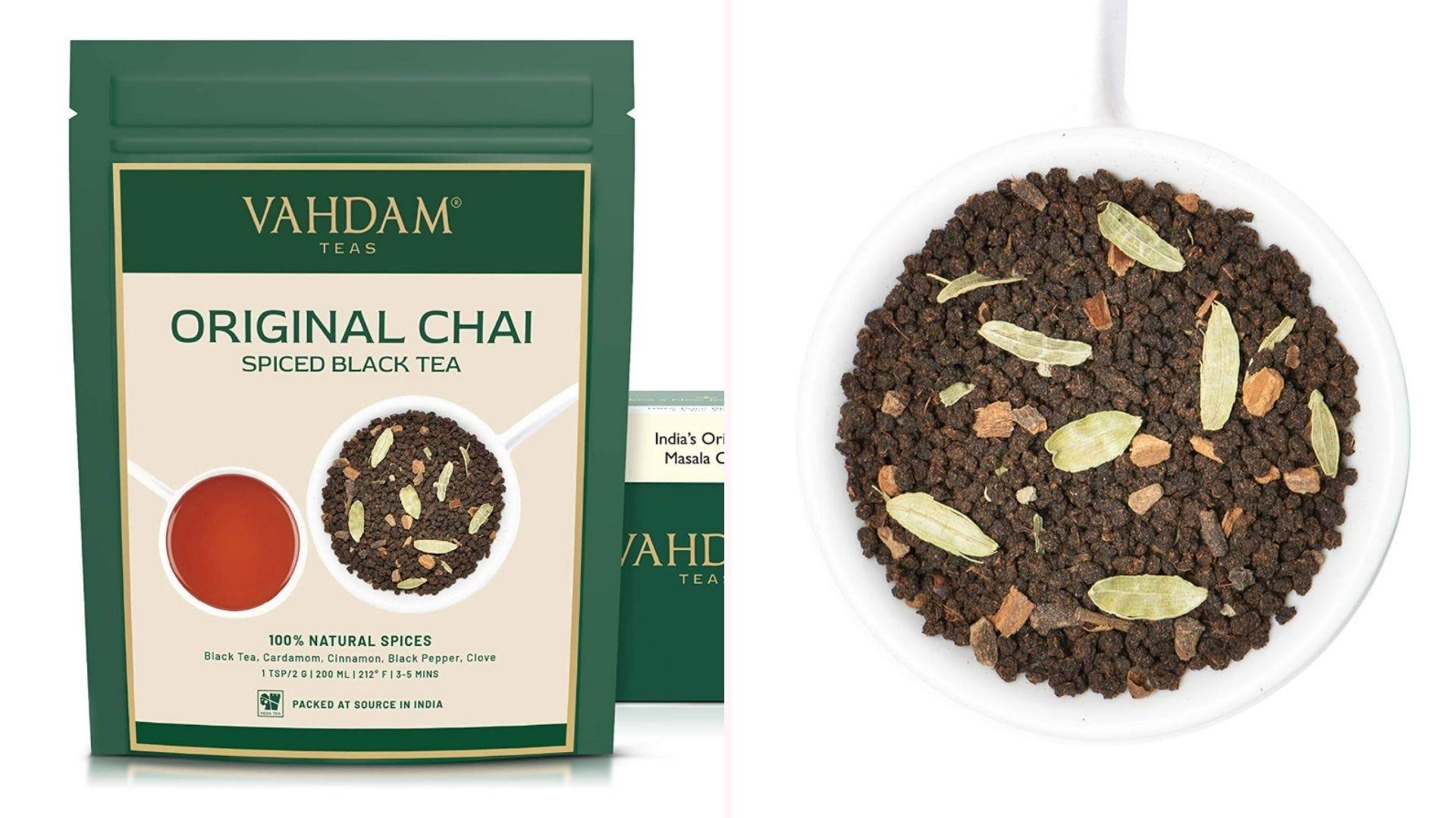 Té chai original de Vahdam.