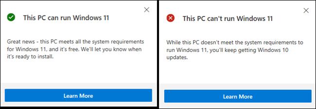 Información sobre cómo ejecutar Windows 11 en su PC.