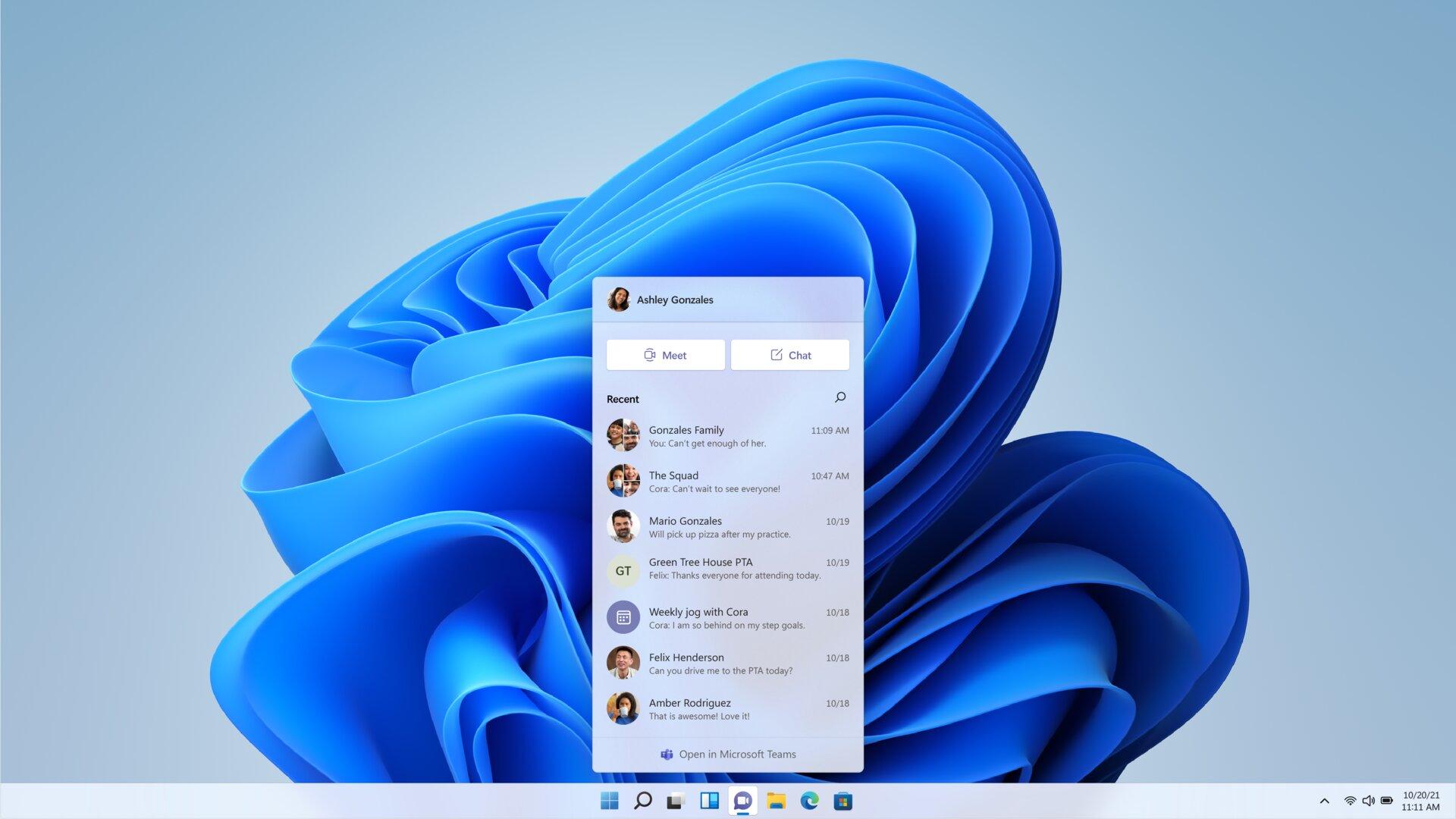 Microsoft Teams para todos directamente en Windows 11