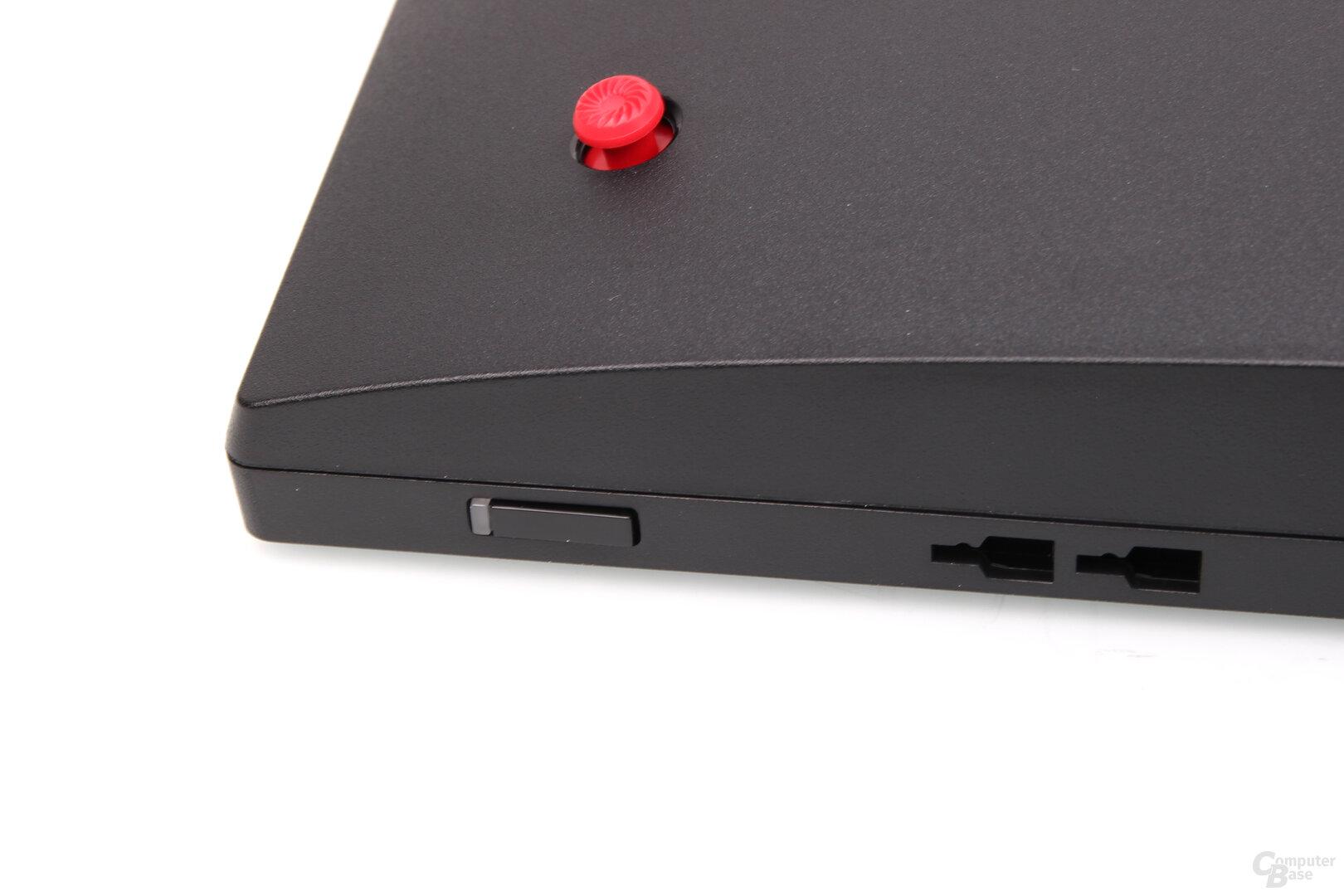 MSI Optix MAG301RF: botón de macro y joystick