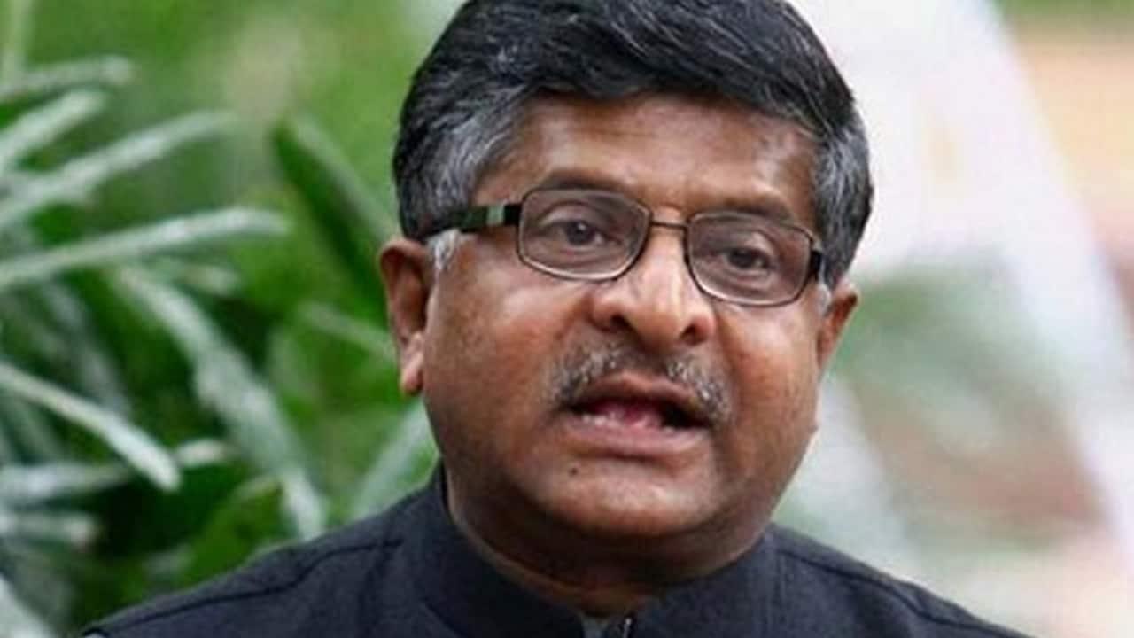 Ministro de TI Ravi Shankar Prasad - Noticias de tecnología, Firstpost