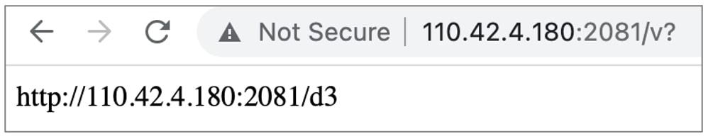 ruta al binario de malware