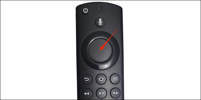 Presiona el botón de Inicio en el control remoto de Fire TV.
