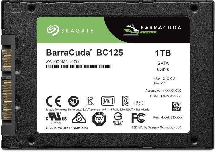 Seagate BarraCuda BC125