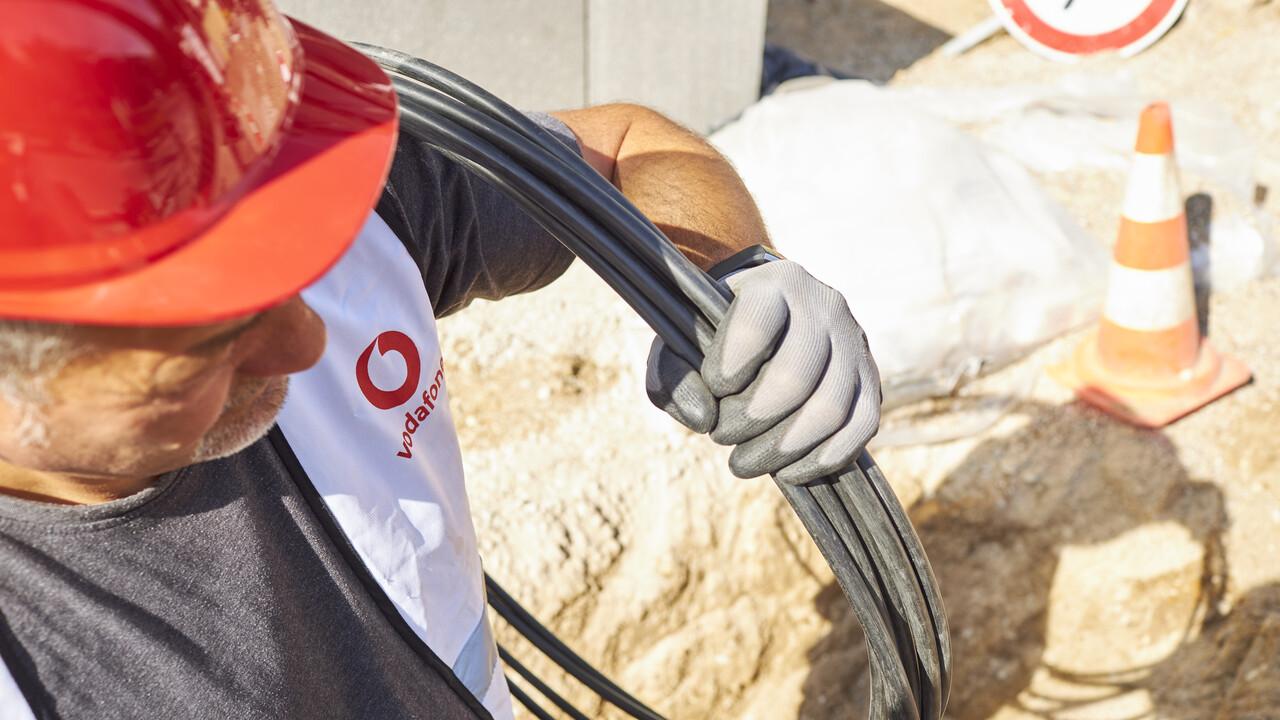 Al menos 50 Mbit / s: Vodafone está aumentando la velocidad de muchas tarifas de cable de forma gratuita