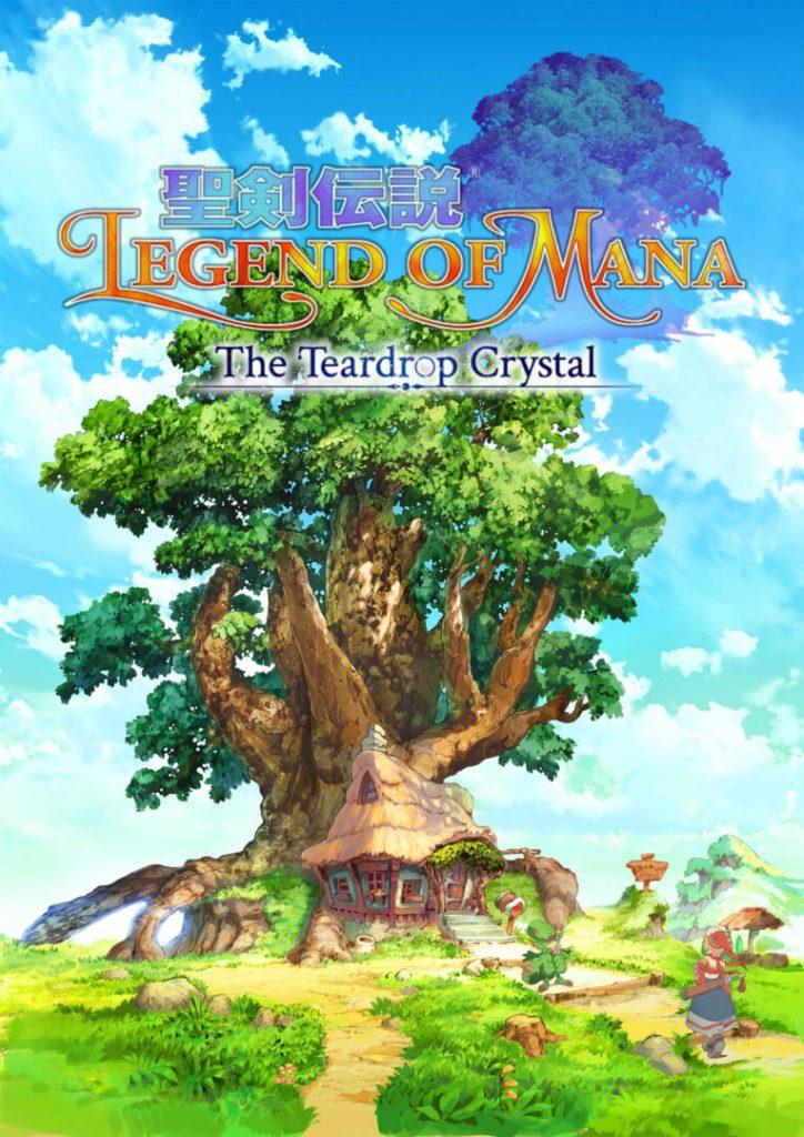 El anime Legend of Mana The Teardrop Crystal