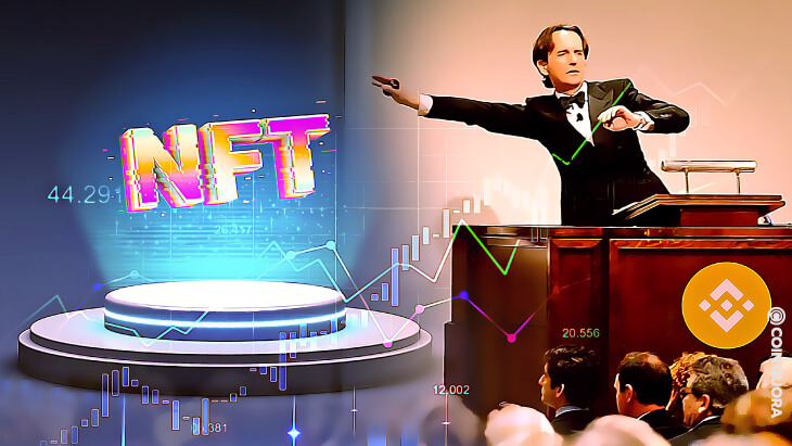 Binance NFT Marketplace Hosts Genesis NFT Auction
