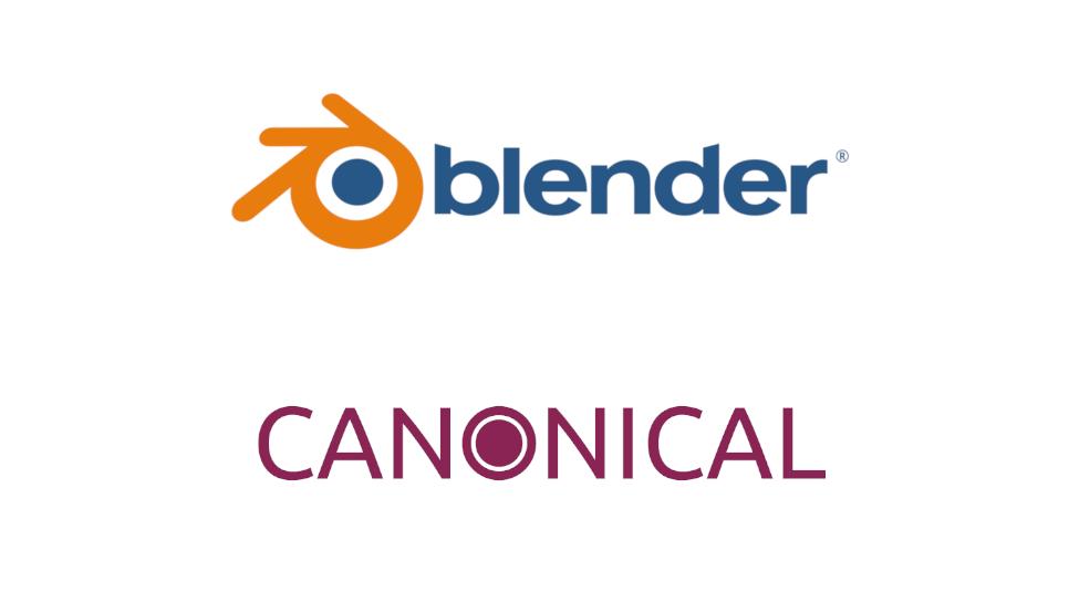 Canonical lanza soporte para Blender LTS