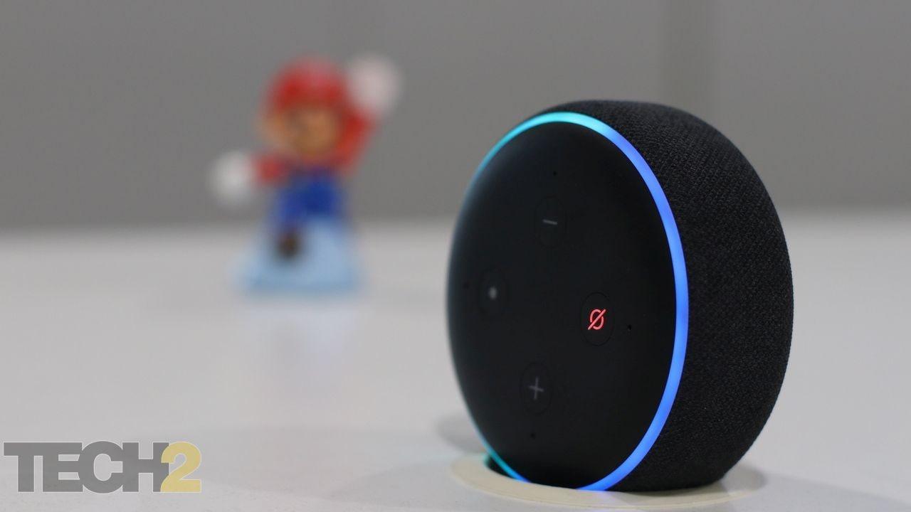 Amazon Echo Dot.  Crédito de la imagen: Tech2