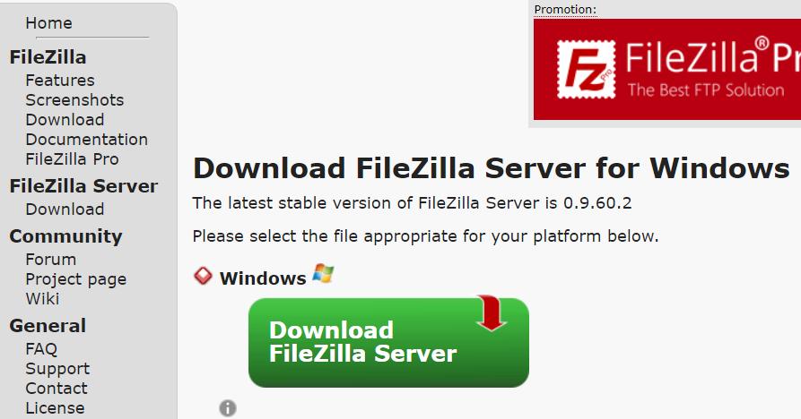 Cómo instalar FileZilla Server en Ubuntu • Sitio web para estudiantes