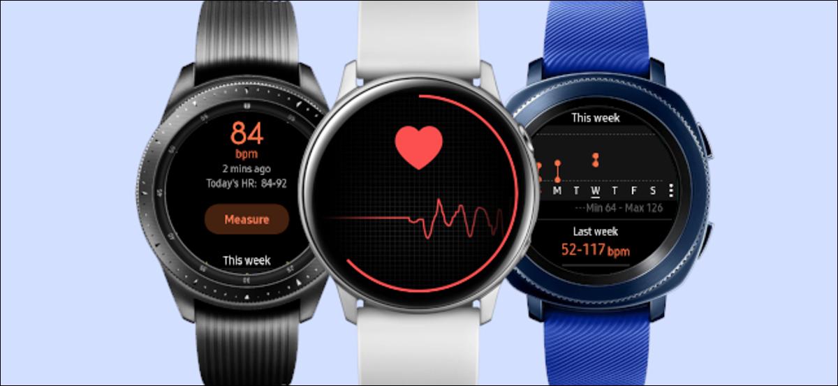 samsung galaxy watch frecuencia cardíaca