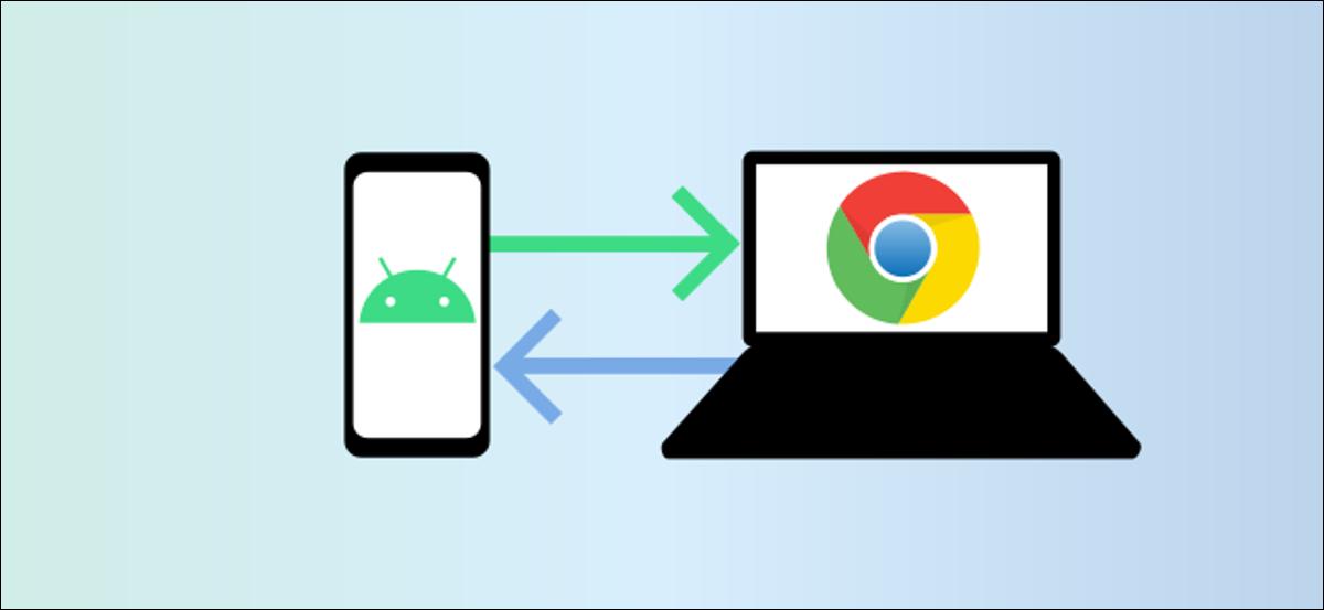 compartir cerca de android y chromebook