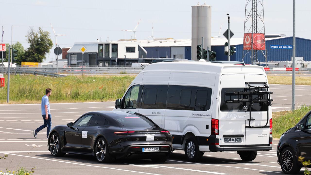 Computación de borde 5G: aquí, Porsche y Vodafone están probando sistemas de advertencia en tiempo real