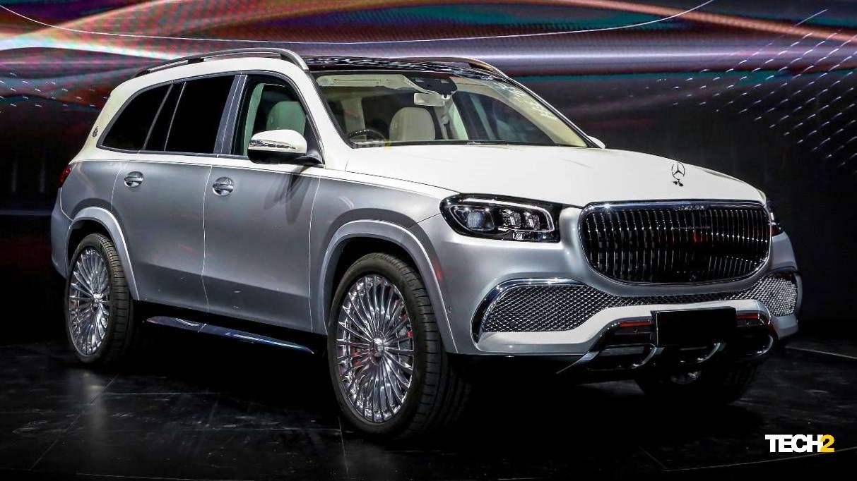 El GLS de nueva generación es la base del primer SUV Mercedes-Maybach de la historia.  Imagen: Mercedes-Benz