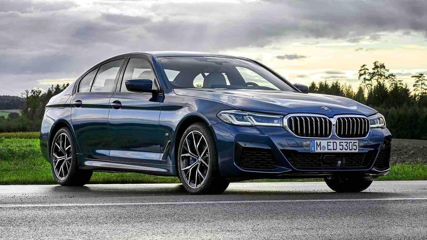 El BMW Serie 5 2021 estará disponible en tres versiones.  Imagen: BMW