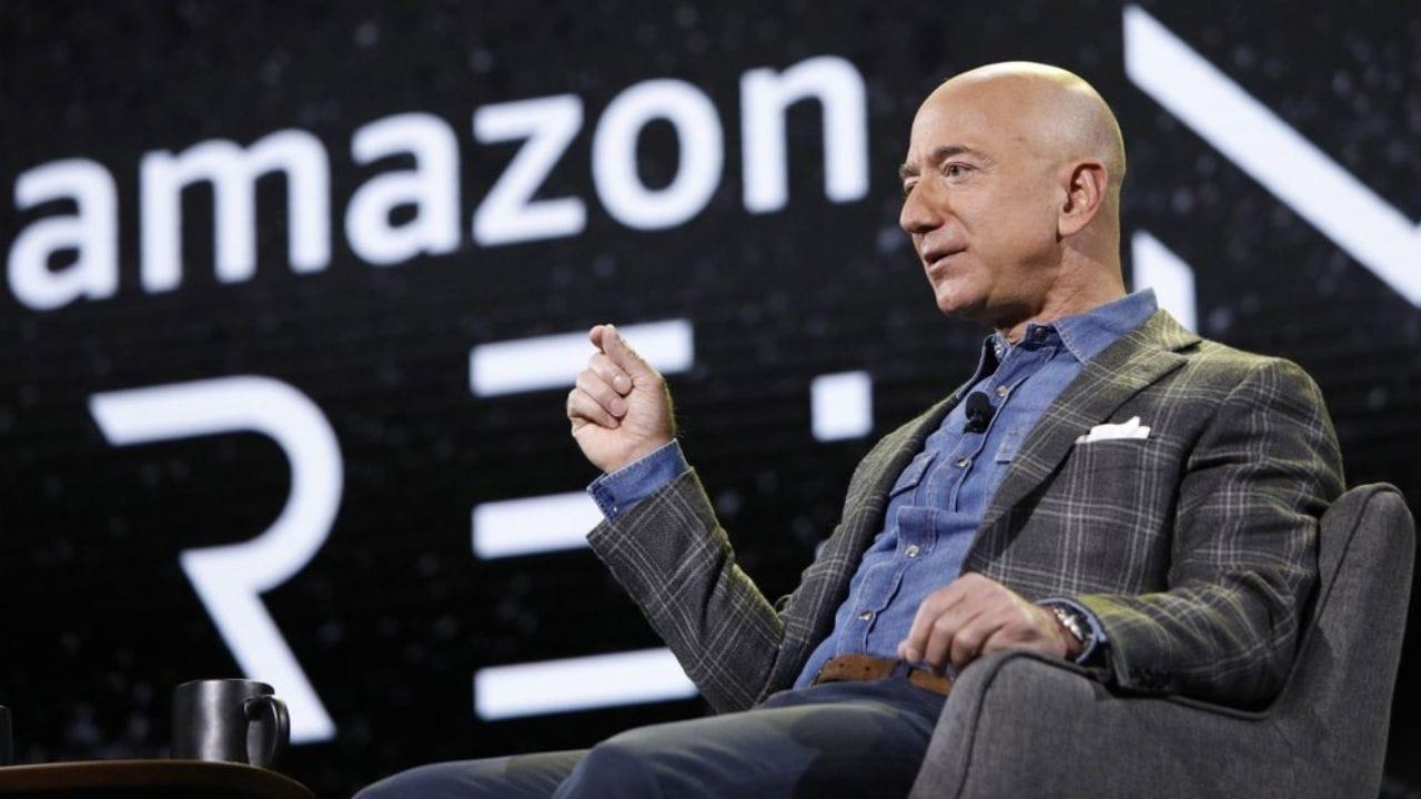 El fundador de Amazon, Jeff Bezos.  Imagen: AP