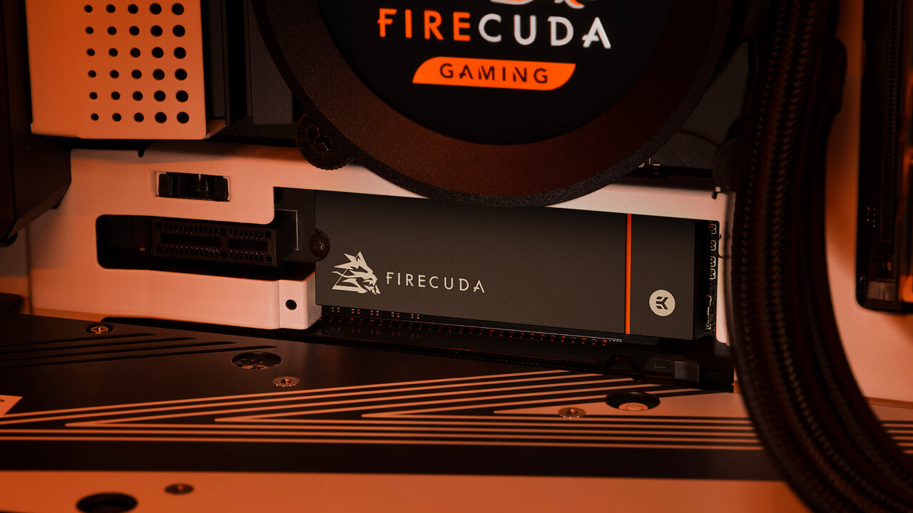 FireCuda 530 SSD: Seagate aumenta a 7.300 MB / s, 4 TB y enfriador EKWB