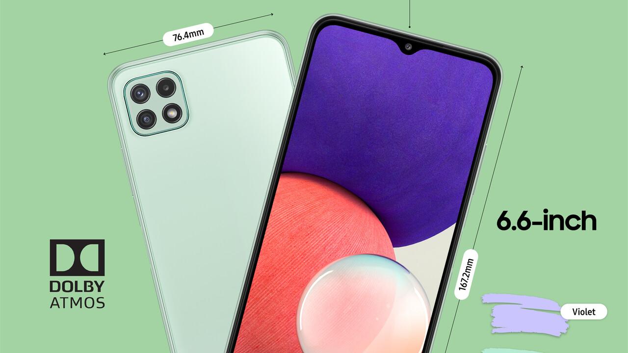 Galaxy A22: los smartphones 5G ya están disponibles en Samsung desde 230 euros