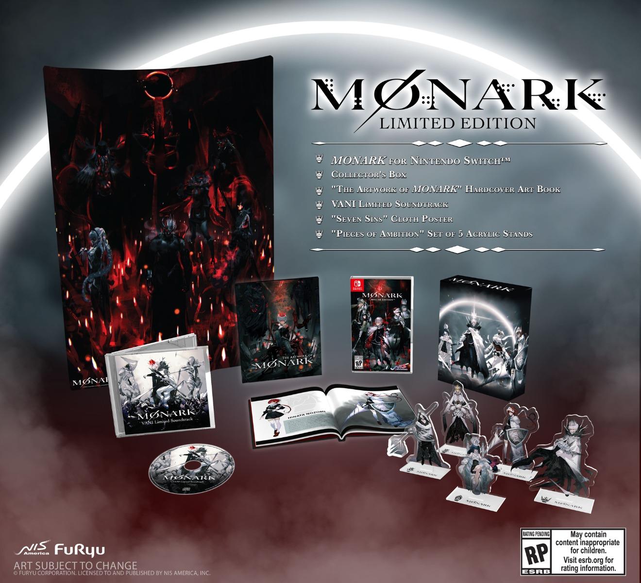 monark english nis america edición limitada