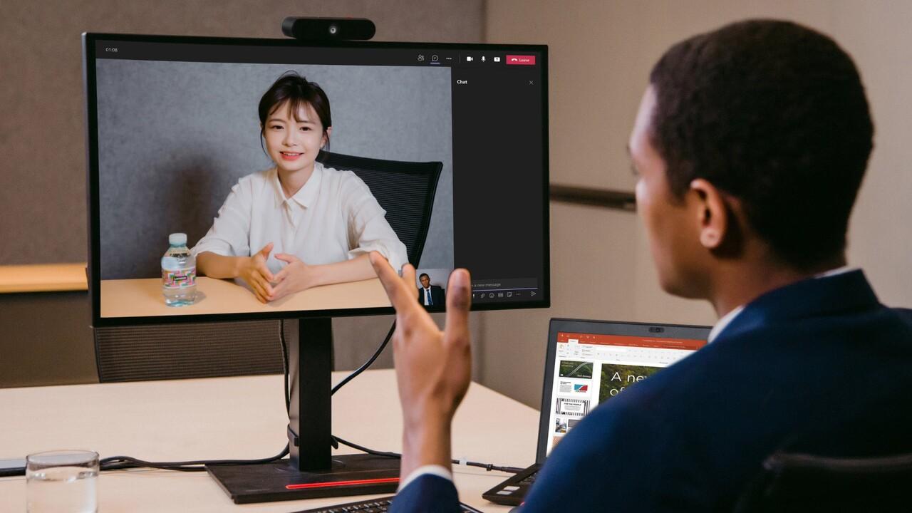 Lenovo ThinkVision: nuevos monitores y cámara web para empresas