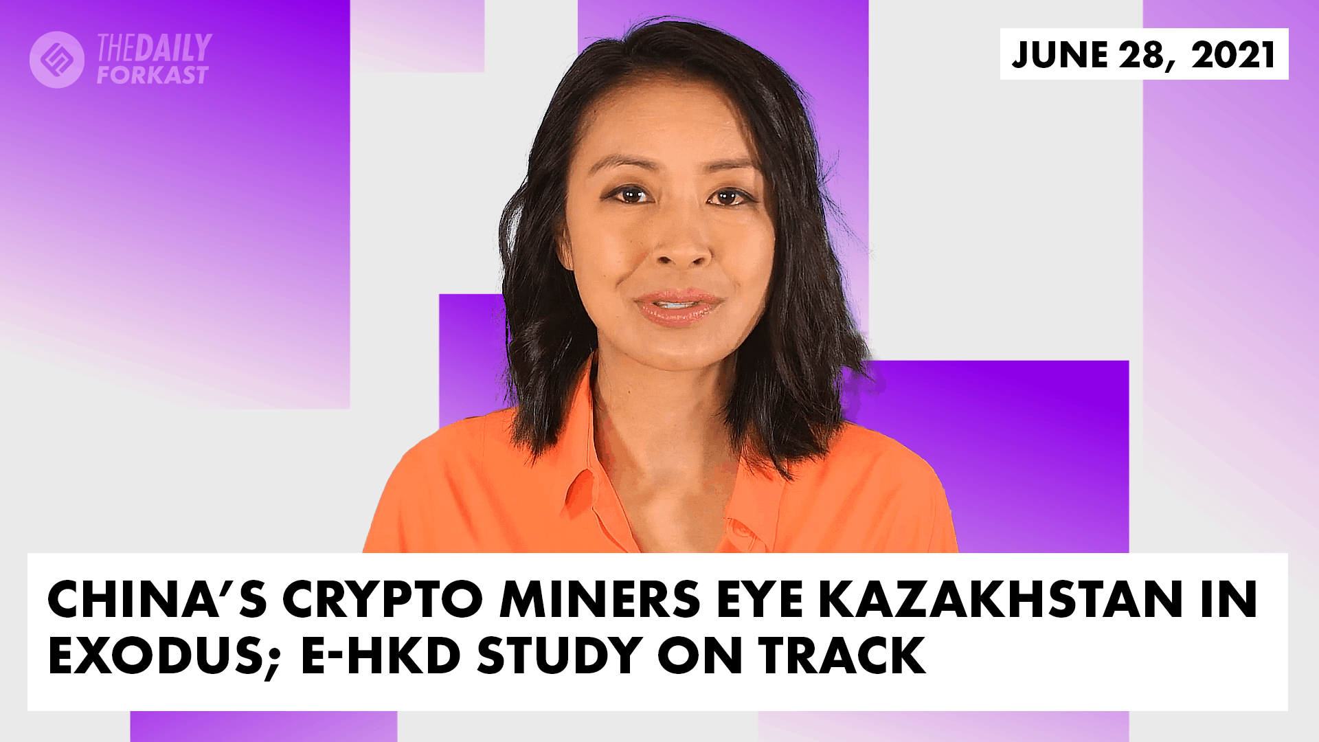 Los mineros de criptomonedas de China miran a Kazajstán en éxodo;  Estudio de e-HKD en marcha