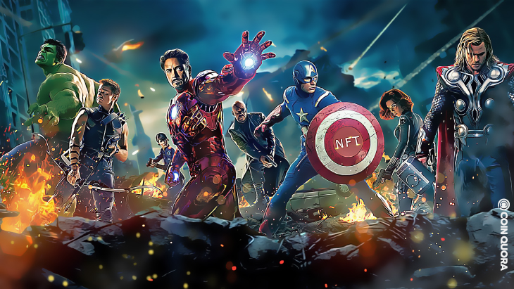 Marvel NFTs Set to Launch Later This Year