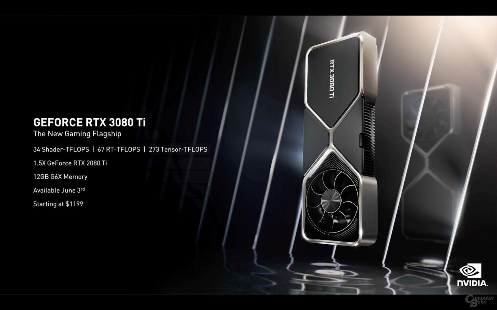 La nueva Nvidia GeForce RTX 3080 Ti