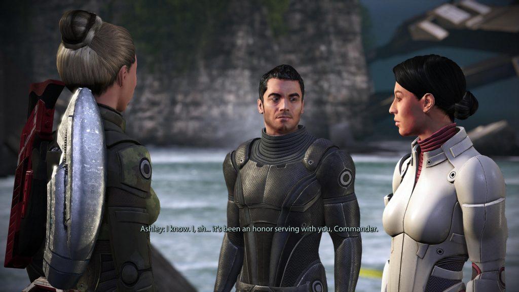 Problemas oculares de Mass Effect Legendary Edition