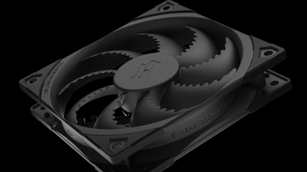 SilentiumPC Fluctus 120 PWM: con álabes de ventilador rápidos para una alta presión estática