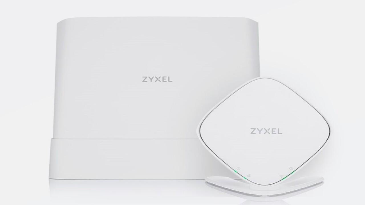 Sistemas de malla Wi-Fi 6: Nueva línea de productos Zyxel con cuatro conjuntos de satélites enrutadores