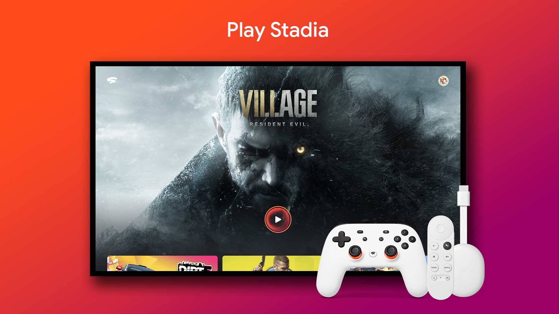 Los propietarios de Google TV pueden obtener un descuento en un controlador Stadia hasta el 30 de julio.  Imagen: Google