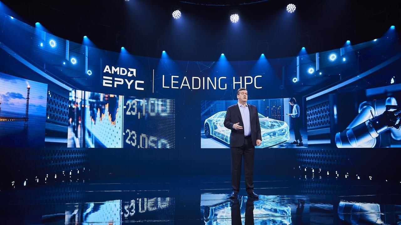 Supercomputer: AMD in fast jedem zehnten System der Top500