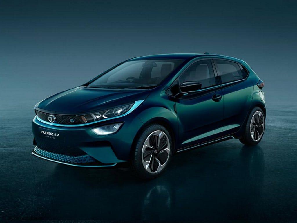 El Tata Altroz EV se convertirá en uno de los 10 vehículos eléctricos que Tata Motors ha preparado para su lanzamiento durante los próximos cuatro años.  Imagen: Tata Motors