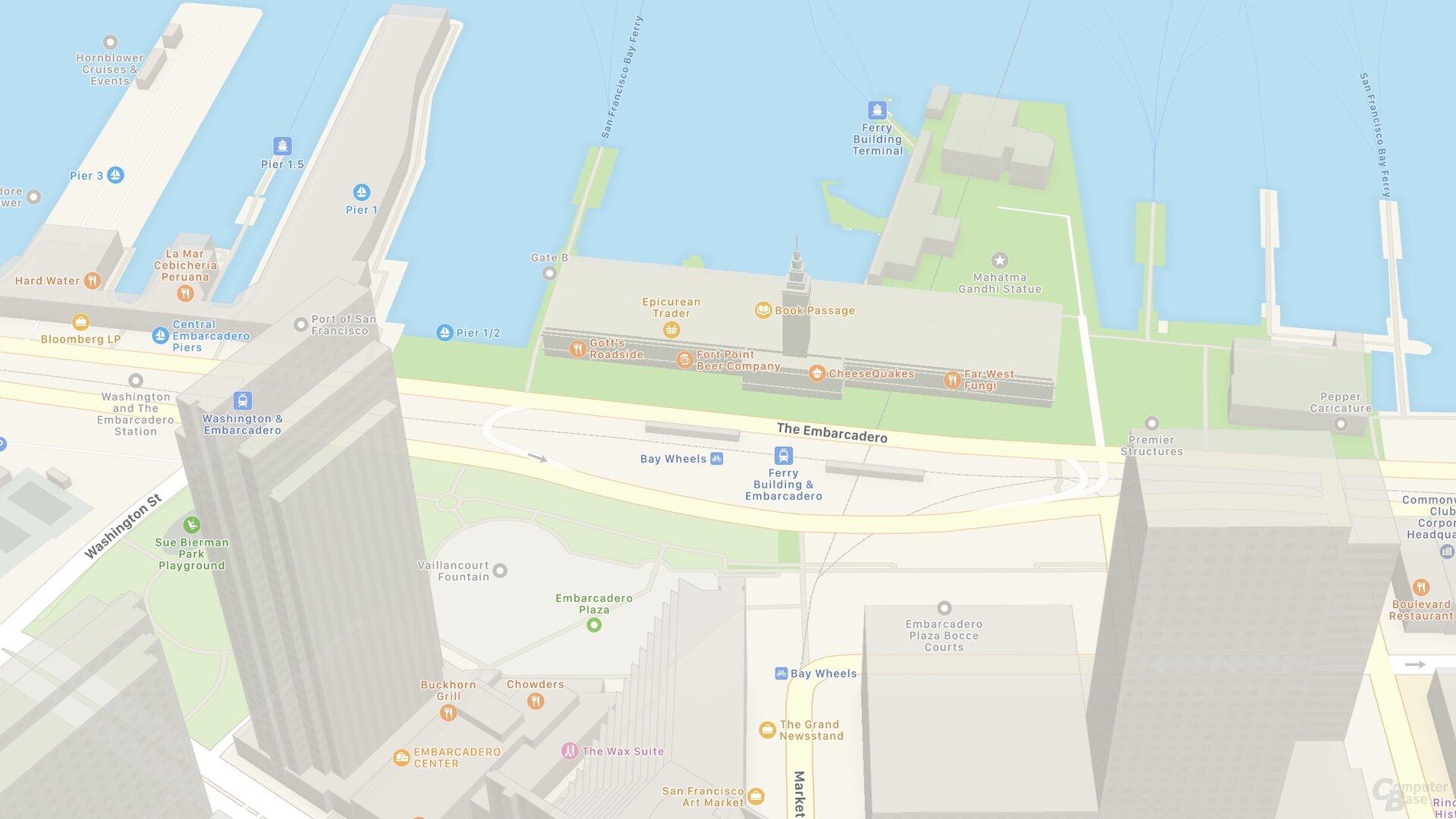 Edificio SF Ferry (iOS 14)