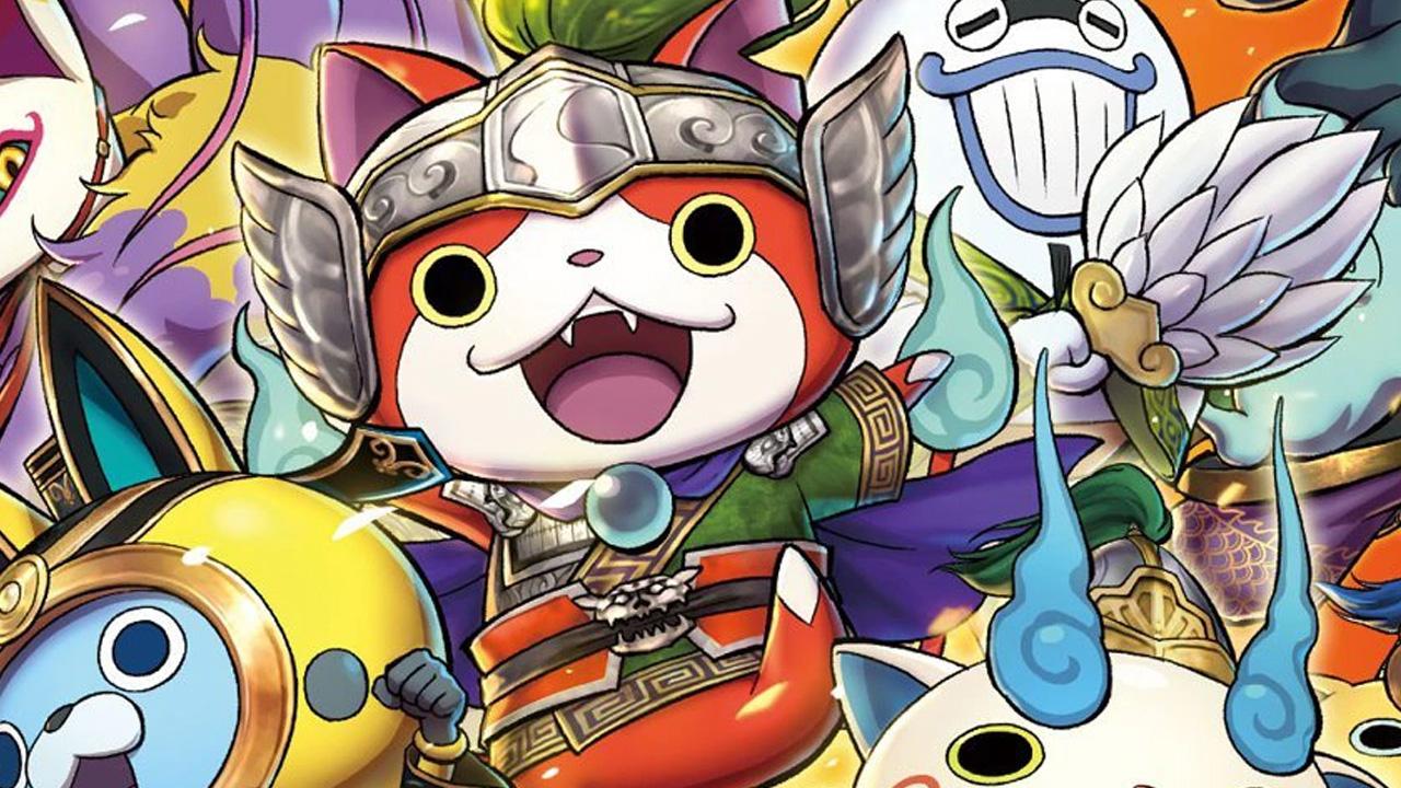 juegos 3ds solo para japón yokai sangokushi