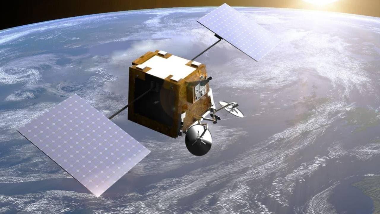 Imagen representativa del satélite OneWeb.  crédito de imagen: OneWeb