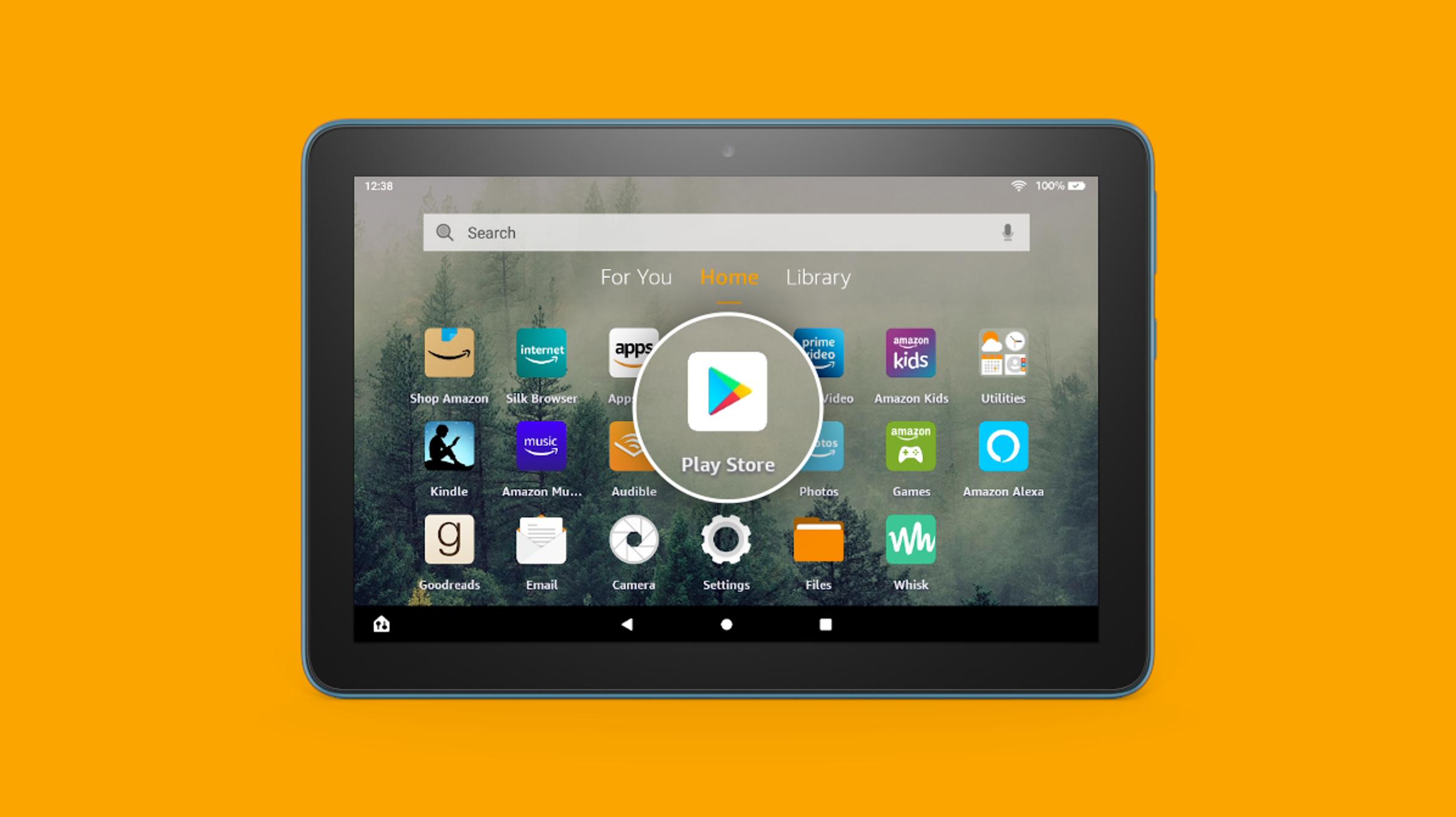 Cómo instalar Google Play Store en una tableta Amazon Fire