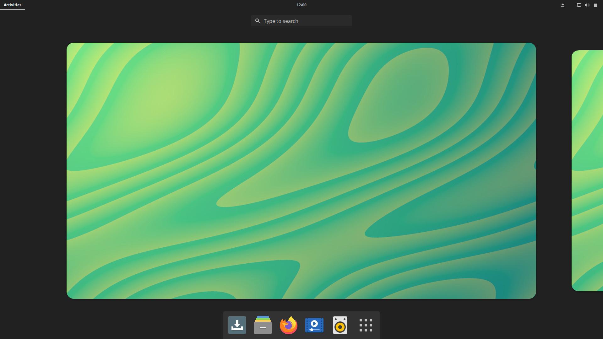 Solus 4.3 con el escritorio Gnome 40.2
