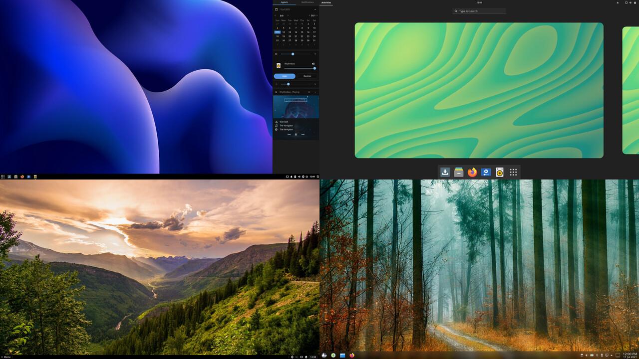 Solus 4.3 mit Linux 5.13.1: Ein Hauch Windows 11 für AMD Radeon RX 6700, 6800, 6900