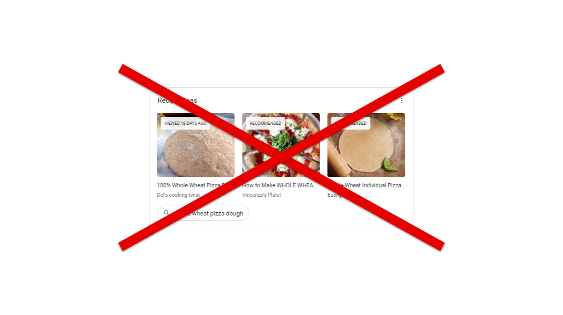 Cómo eliminar sugerencias de la página Nueva pestaña de Chrome