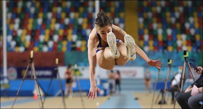 Persona que compite en un evento olímpico