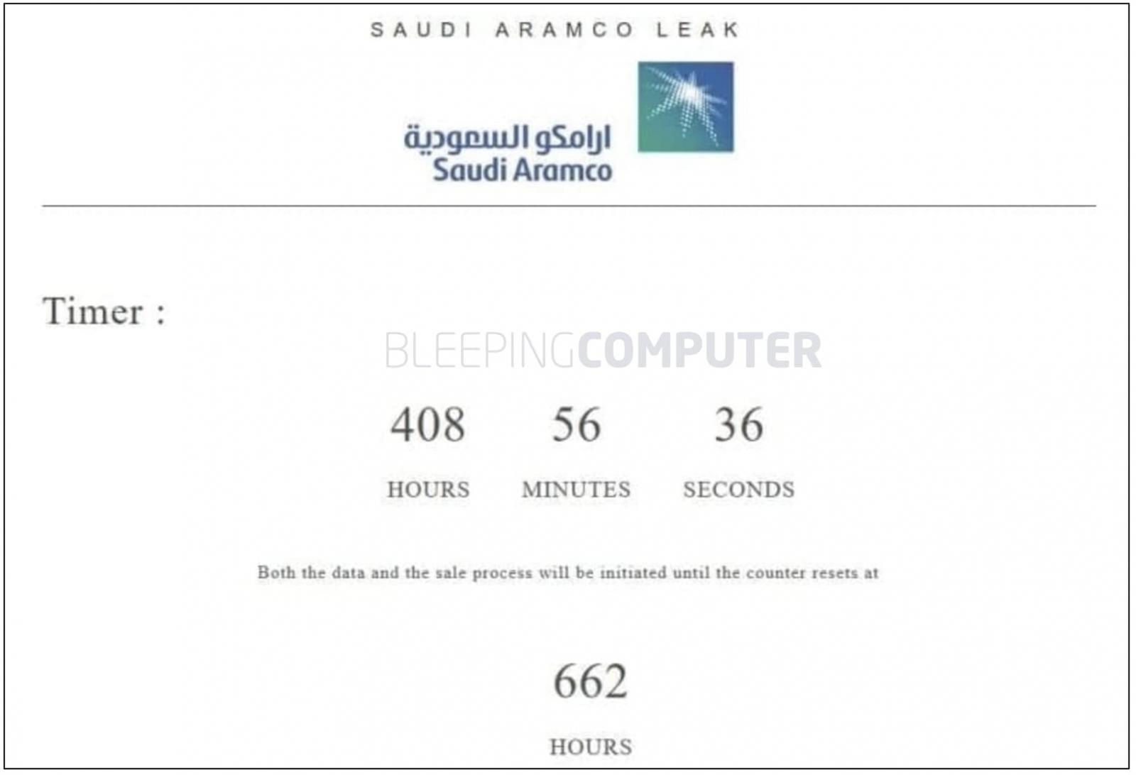 tictac temporizador saudi aramco