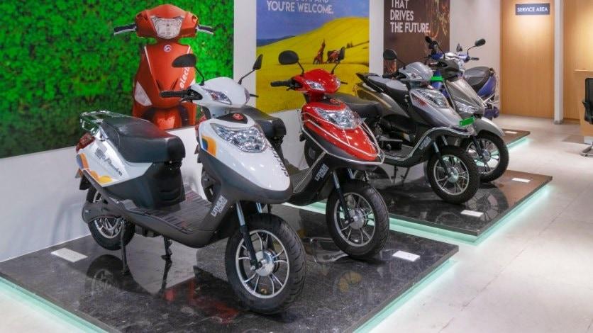 Hero Electric espera que los scooters de baja velocidad representen ahora solo el 20 por ciento de las ventas.  Imagen: Hero Electric